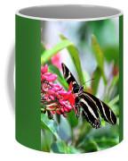 Garden Zebra Longwing Coffee Mug