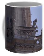 Gargoyles At Notre Dame Cathedral Coffee Mug