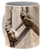 Gargoyles On Ely Cathedral Coffee Mug