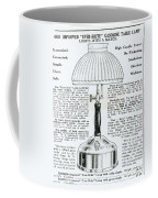 Gas Lamp Ad Coffee Mug