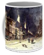 Gas Lights, 1885 Coffee Mug