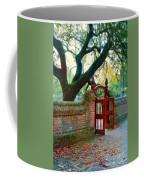 Gate In Brick Wall Coffee Mug