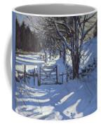 Gate Near Youlgreave Derbyshire Coffee Mug