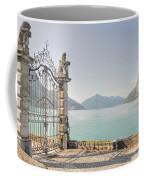 Gate On The Lake Front Coffee Mug