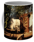 Gate To Cowboy Heaven In Old Tuscon Az Coffee Mug