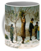 Gathering Mistletoe Coffee Mug