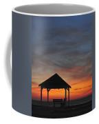 Gazebo At Sunset Seaside Park, Nj Coffee Mug