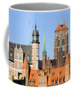 Gdansk Old Town In Poland Coffee Mug