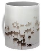 Geese And Ducks In A Placid Lake Coffee Mug