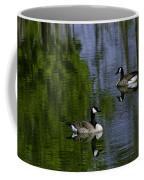 Geese On The Pond Coffee Mug