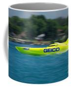 Geico Offshore Racer Coffee Mug
