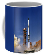 Gemini 12 Astronauts Lift Off Aboard Coffee Mug