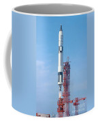Gemini Vi Lifts Off From Its Launch Pad Coffee Mug