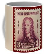 General James Oglethorpe Postage Stamp Coffee Mug