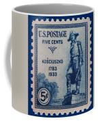 General Kosciuszko Postage Stamp Coffee Mug