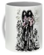 Genes And Roses Coffee Mug by Rachel Christine Nowicki