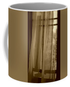 Gentle Breeze In Sepia Coffee Mug