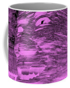 Gentle Giant In Negative Pink Coffee Mug