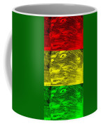 Gentle Giant In Negative Stop Light Colors Coffee Mug