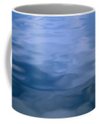 Gently Rippled Blue Water Coffee Mug