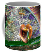 Geo Hearts Coffee Mug