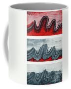 Geologic Crumpling Coffee Mug