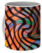 Geometrical Colors And Shapes 2 Coffee Mug