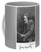 George Meredith (1828-1909) Coffee Mug
