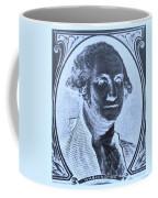 George Washington In Negative Cyan Coffee Mug