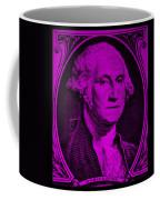 George Washington In Purple Coffee Mug