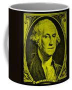 George Washington In Yellow Coffee Mug