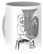 Gerard Hoffnung (1925-1959) Coffee Mug by Granger