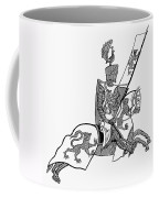 German Knight Coffee Mug