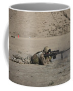 German Soldier Firing A Barrett M82a1 Coffee Mug