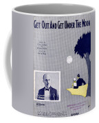 Get Out And Get Under The Moon Coffee Mug by Mel Thompson