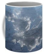 Geyser Basin Cloud Reflection Coffee Mug