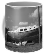 Ghost Crab Boat Coffee Mug