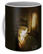 Ghostly Figure In Hallway Coffee Mug by Jill Battaglia
