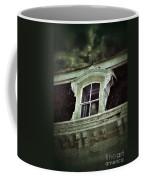 Ghostly Girl In Upstairs Window Coffee Mug by Jill Battaglia