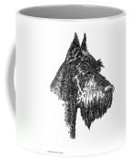 Giant-schnauzer-portrait Coffee Mug