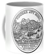 Gibraltar: Medal, 1727 Coffee Mug