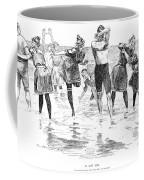 Gibson: Bathing, 1892 Coffee Mug
