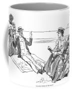 Gibson: Beach, 1900 Coffee Mug