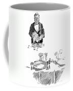 Gibson: Butler, 1900 Coffee Mug