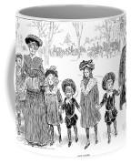 Gibson: Race Suicide, 1903 Coffee Mug