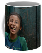 Giggles Against The Wall Coffee Mug