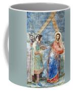Giotto: Road To Calvary Coffee Mug