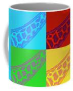 Giraffe Pop Art Coffee Mug