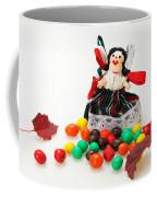 Girl And Fall Coffee Mug