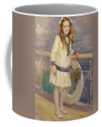 Girl In A Sailor Suit Coffee Mug